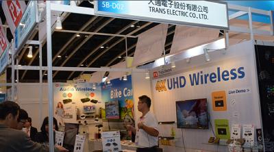 香港電子展推出全球首款無線4K UHD 影音無線傳輸